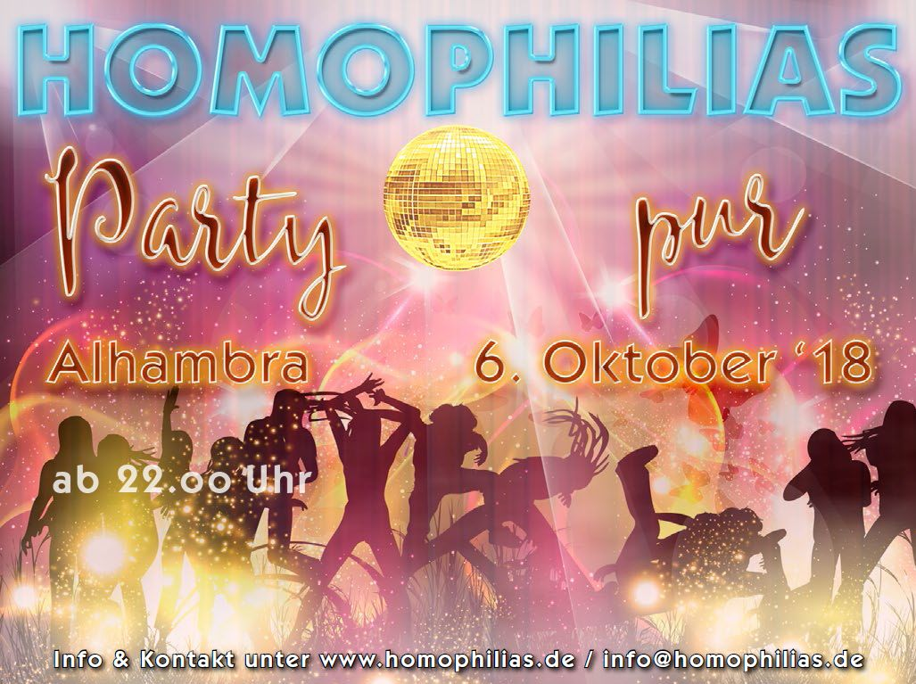 Party pur am 6. Oktober 2018